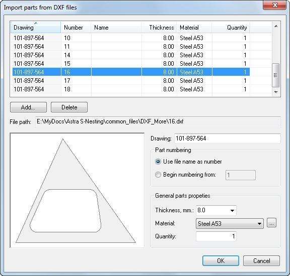 Astra S-Nesting - true shape nesting Software for optimum